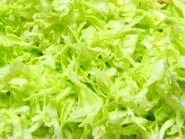 生鮮食品となるカット野菜