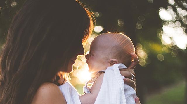 赤ちゃんのことに専念することができる