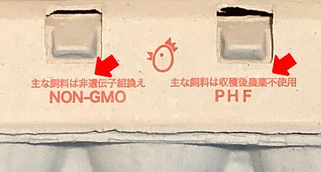 飼料は遺伝子組替えではない「non-gmo」