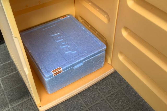 自宅に発泡スチロールなどの梱包材を保管しておく必要がなくなった