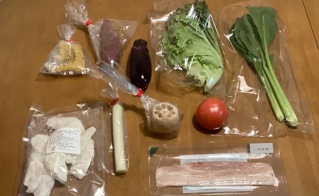 野菜の種類が多くて健康的