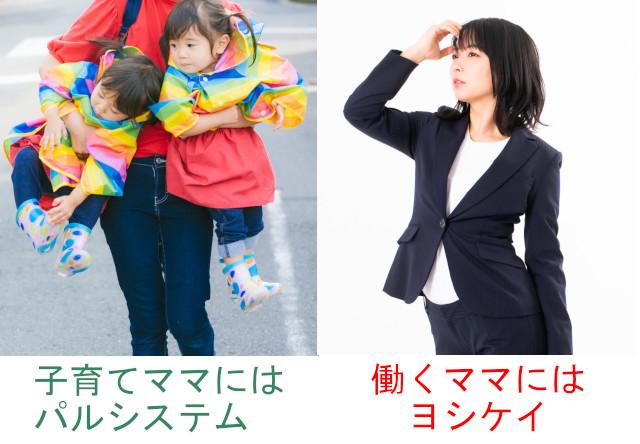 子育てママにはパルシステム、働くママにはヨシケイ