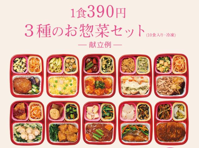 第2位【390円】ワタミの宅食ダイレクトのちゃんとごはん