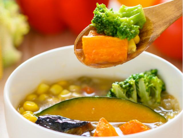 野菜タップリのベジ活スープ食